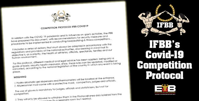 IFBB Covid-19 Competition Protocol