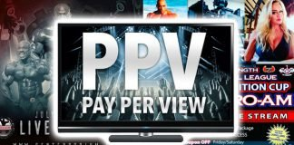 Pay View bodybuilding events