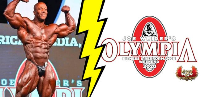 Shawn Rhoden out 2020 Olympia