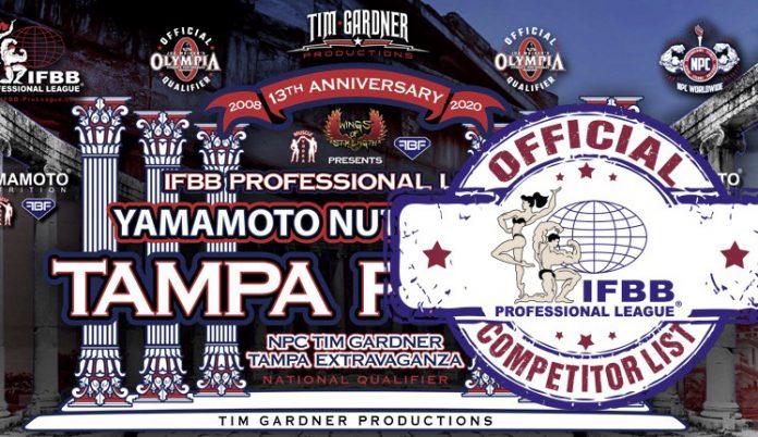 Tampa Pro competitors list