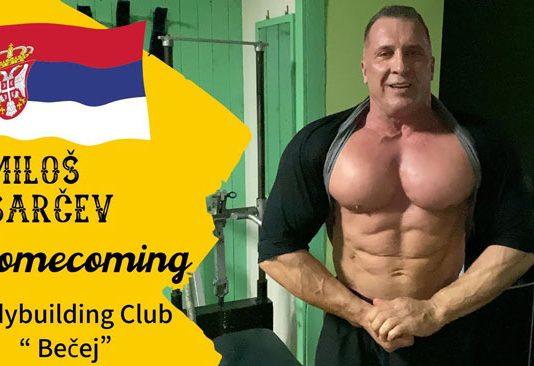 milos sarcev returns serbia