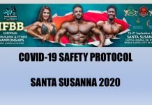 ifbb european championships safety