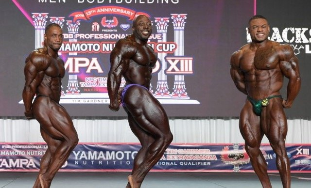 tampa pro results olympia
