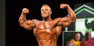 brad rowe retirement bodybuilder