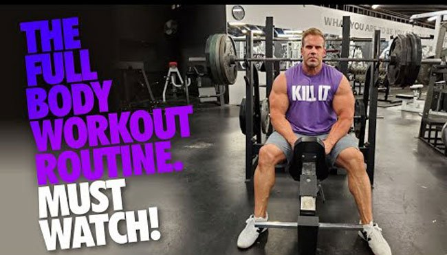 jay cutler workout olympia