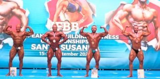 RESULTS ifbb Day 2