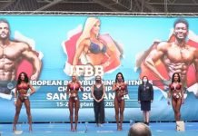 results ifbb european video