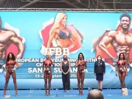results ifbb european video