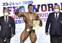 results 2020 IFBB World Junior