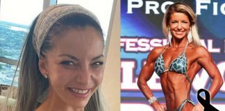 Bodybuilding fitness mourn Pereira