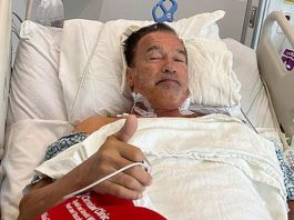 Schwarzenegger second heart operation