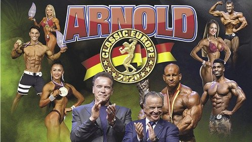 Arnold Classic Europe Inspection