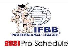 IFBB Professional League schedule