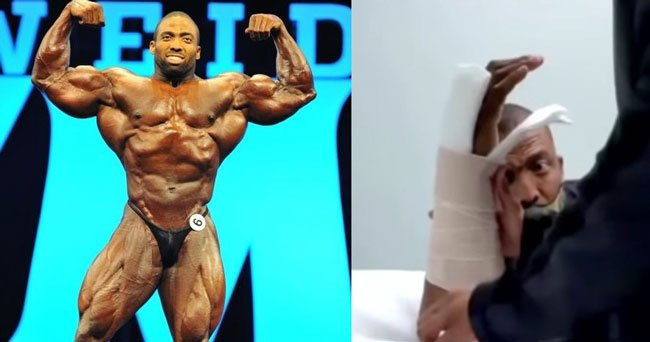 Cedric McMillan out Mr. Olympia