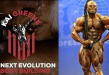 kai greene announcement