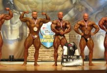 IFBB Elite Competitors List