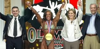 2020 Olympia women's Physique