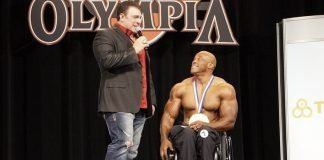 Harold Kelley Wins olympia