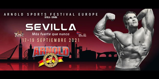 Arnold Sports europe confirmed