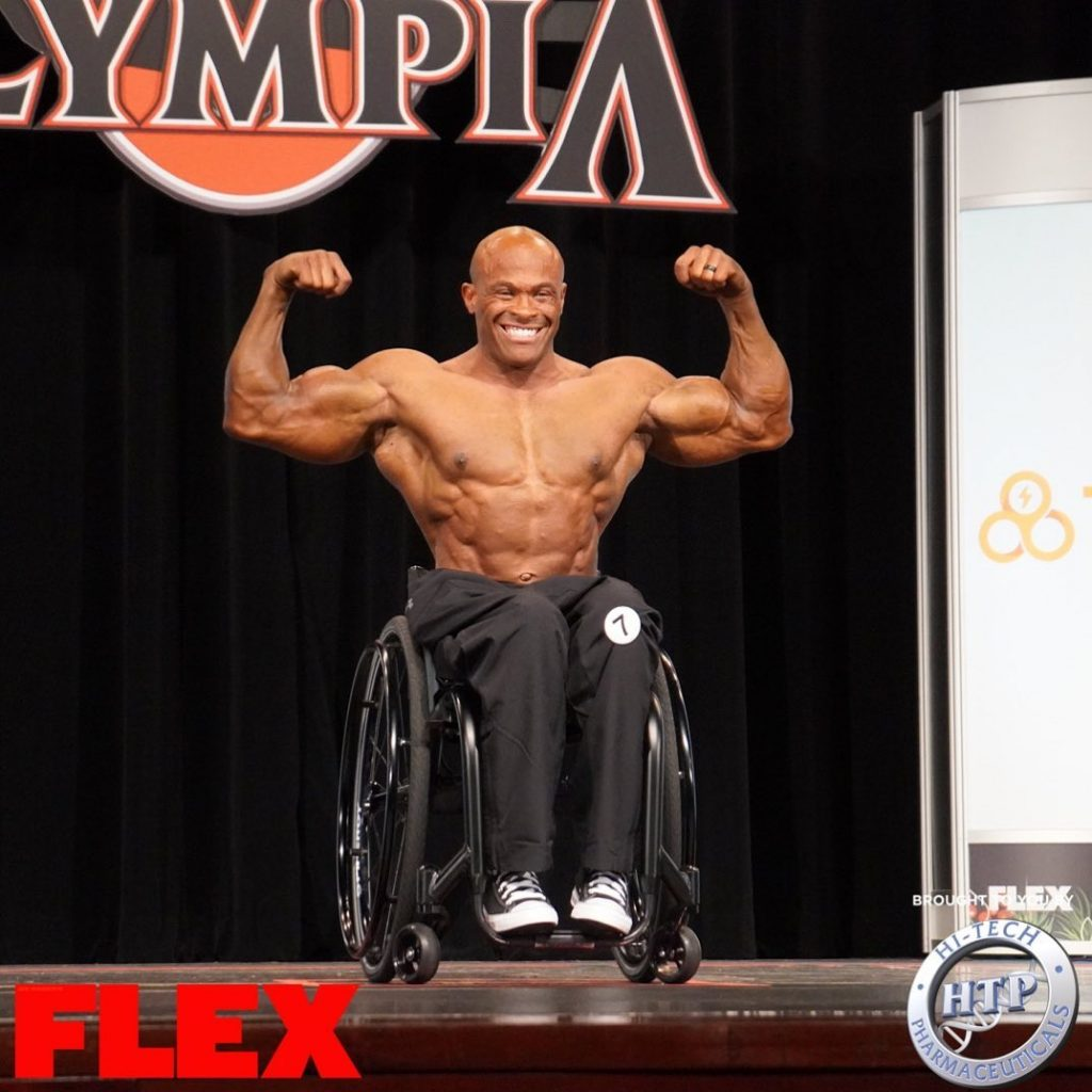 Harold Kelley Wins olympia