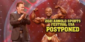 2021 Arnold Sports postponed