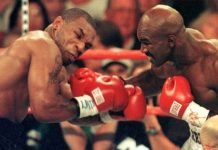 Evander Holyfield Mike Tyson