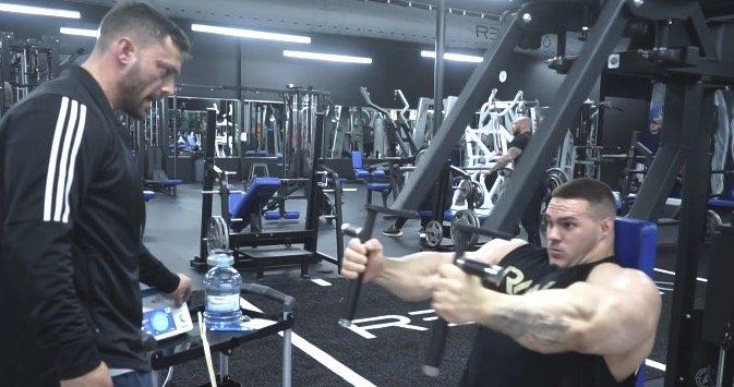 nick walker chest workout