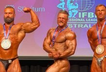 Bodybuilding spectacle Australia's Season