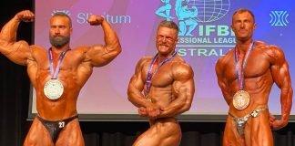 Bodybuilding spectacle Australia's Season