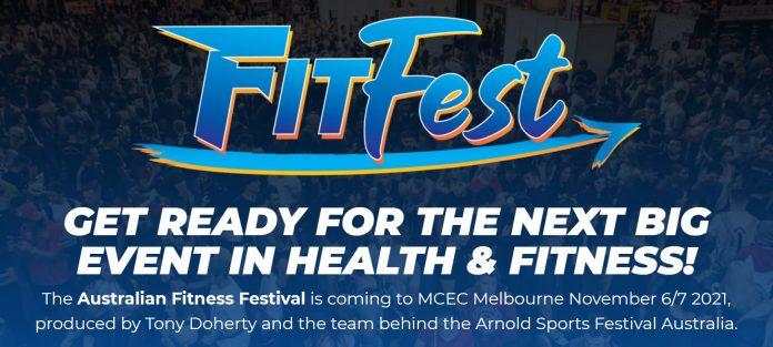 Tony Doherty Fitfest Expo