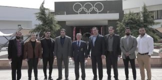 IFBB President Rafael Iran