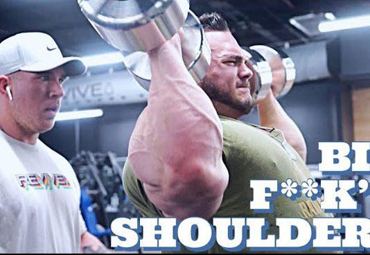 Nick Walker Boulder Shoulders