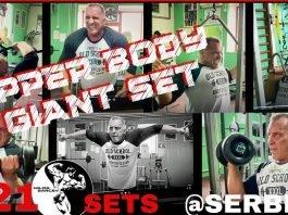 Milos Sarcev's workout Serbia