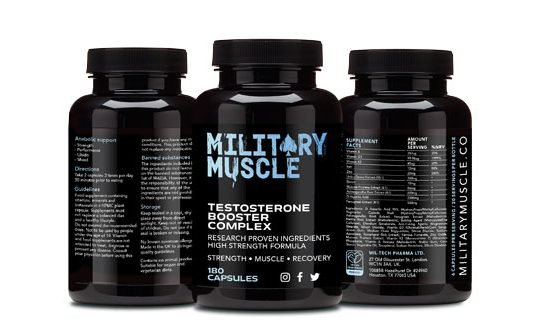 Military Muscle Testosterone Booster