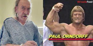 Legendary wrestler Paul Orndorff